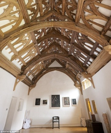 hammerbeam roof, whitestaunton